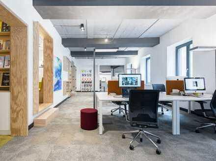 """Schreibtische und Büros in innovativer Arbeitswelt """"Flora & Fauna"""""""