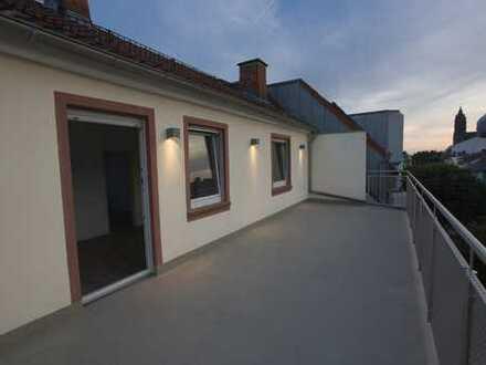 Sonnendurchflutetes Appartment mit herrlicher, großer Sonnen-Terrasse mit Küche
