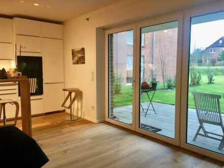Moderne, helle, 4-Zimmer-EG-Whg. m. Garten in Großburgwedel