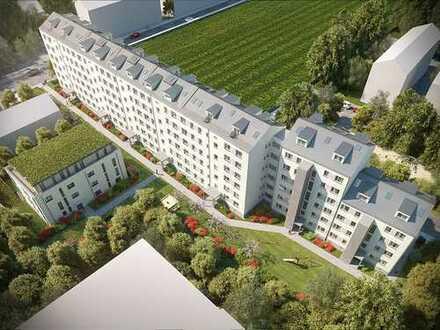 Modernisierte, langfristig vermietete Wohnung zur Kapitalanlage in München-Moosach