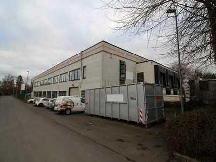 Ca. 1.300 qm Lager / Produktion   3x Rampe + ebenerdig   ca. 3,50 - 4,00 m UKB!