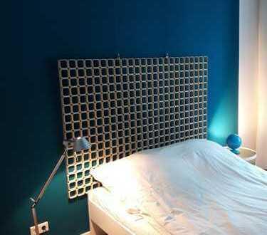Vollmöbliertes, einzugbereites Appartement, Designjuwel;DSL; Modern trifft Antik; Exclusives Büro