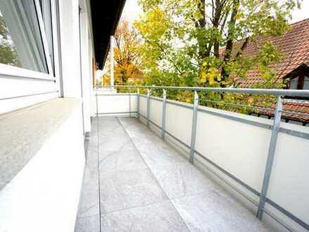 Neu renovierte, WG-geeignete 3-Zimmerwohnung mit Balkon und EBK