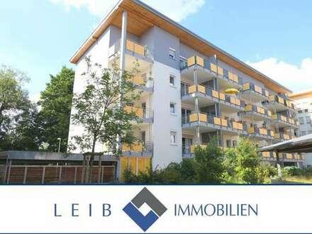 Service-Wohnen im Wohnpark am Hahnfluss: komfortable 3-Zimmer-Wohnung mit 2-Balkonen!