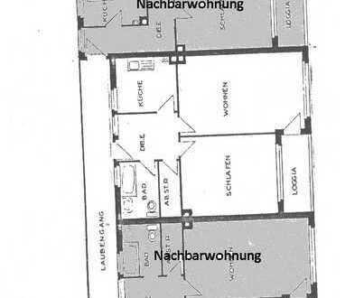 Erschwingliche und neuwertige Wohnung mit zweieinhalb Zimmern und Balkon in Essen