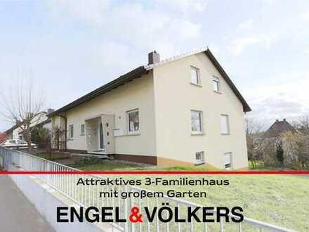 Attraktives 3-Familienhaus mit großem Garten
