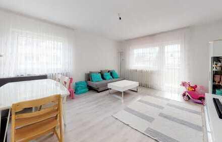 Schöne renovierte 3-Zimmer-Wohnung mit zwei Balkonen in Murr