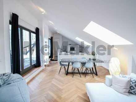 Urban, modern und individuell: Exklusives Luxus-Penthouse im Herzen von Frankfurt am Main!
