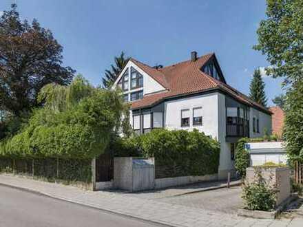 Sanierte 3-Zimmer-Gartenwohnung in Solln mit Garage