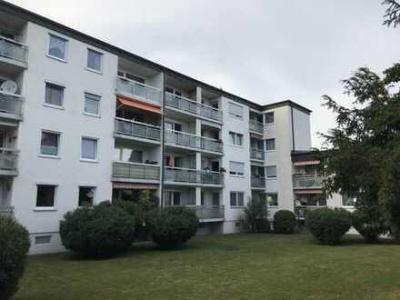 Gepflegte 2-Zimmer-Wohnung mit Balkon und Einbauküche in Landshut - Wolfgangssiedlung