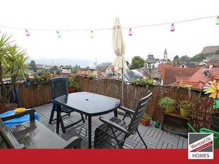PROVISIONSFREI FÜR KÄUFER - Charmante 3 Zimmer-Wohnung mit tollem Ausblick in Lindenfels
