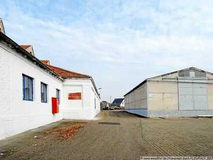 Hallenflächen (50 bis 5000 m2) zu vermieten, vielseitig nutzbar, variable Größen, Nähe A65.