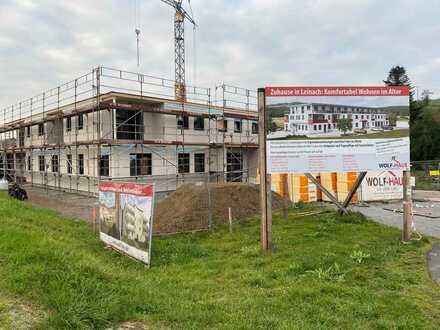 Erstbezug: stilvolle 3-Zimmer-Wohnung mit Einbauküche und Balkon in Leinach