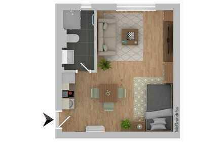 1-Zimmer Wohnung zur Kapitalanlage