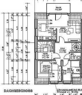 Erstbezug: attraktive 3-Zimmer-Maisonette-Wohnung zur Miete in Dülmen-Rorup