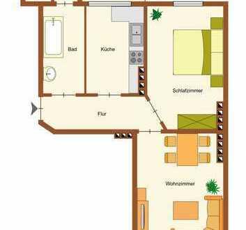 Kapitalanlage gesucht? Vermietete 2- Zimmer-Wohnung in Wilhelmshaven zu verkaufen!