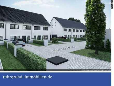 Neubau Reiheneckhaus in Castrop-Rauxel. 94 m² Wohnfläche zzgl. 30 m² Ausbaureserve DG