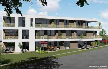 Seltene Gelegenheit - Neubau Penthouse Whg. in Erbach! **PROVISIONSFREI**