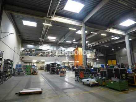 sofort verfügbar | ca. 3.000 m² Hallenfläche (erweiterbar) | gute Verkehrsanbindung