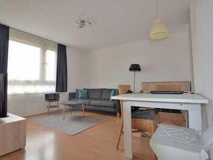 1-Zimmer Single-Wohnung mit schönem Balkon!