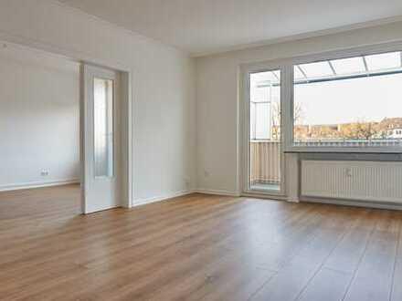 Attraktive frisch sanierte 3-Zimmer-Wohnung in Maschseenähe mit Balkon