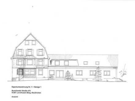 Schmuckstück, große 5 Zi.-Eigentumswg. 169 m², gr. Terrasse, Garten + Gartenhaus + Teich
