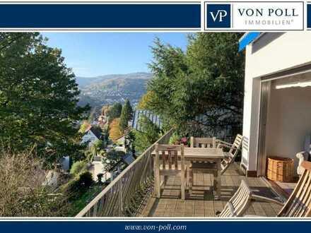 VON POLL: Traumhaus mit Neckarblick in idyllisch-ruhiger Aussichtslage