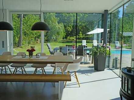 1 Grund mehr. - Exklusiv Wohnen an der Isar, 28 km südlich von München, mit phantastischem Garten