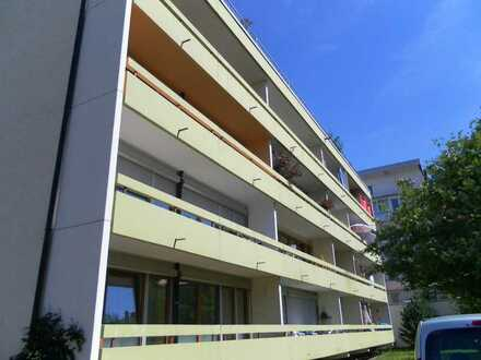 Stadtmitte Neu-Ulm, vermietete 2-Zimmer Wohnung mit großem Balkon