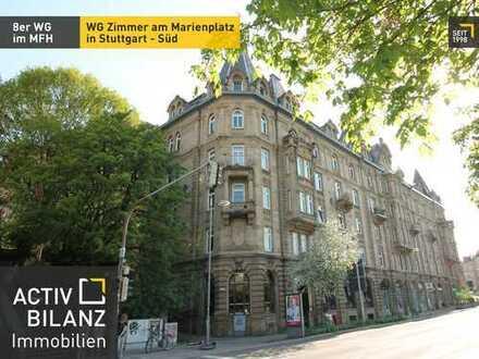 8er WG: WG Zimmer am Marienplatz in Stuttgart - Süd