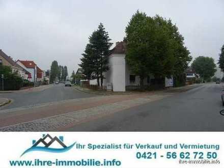 HB-Hemelingen: Baugrundstück mit Bestandsimmobilie, XXL-Garage, bebaubar m. 2 Vollges. + Staffelges.