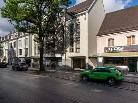 Zentral * Kundenfreundlich * Nachhaltig * Flexibel. Ladenbüro mit 5 Stellplätzen in Dachau-Altstadt.