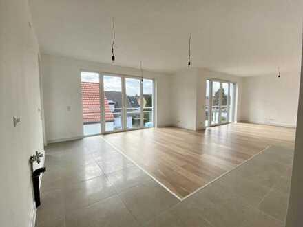 Großzügige 4-Zimmer-Wohnung mit Balkon zum Innenhof in einem Neubauprojekt im Ortskern von Sulzbach