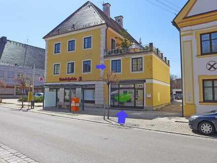 Zentral gelegen - Schöne Gewerberäume auf 2 Ebenen im Zentrum von Türkheim