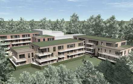 Neubau! Moderne und helle 2-Zimmerwohnung in grüner und ruhiger Lage von Hamburg-Eißendorf!