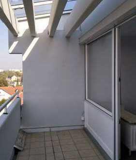 moderne Wohnung mit zwei großen Balkonen und einer gigantischen Aussicht
