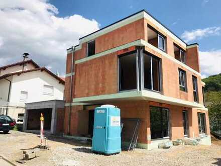 Neubau Erstbezug: Hochwertige 3-Zimmer-EG-Wohnung mit Terrasse & Garten in Bensheim