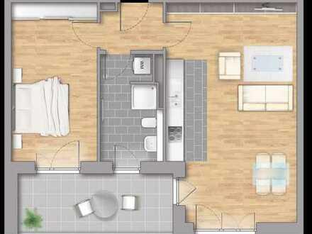 2-Zimmer Wohnung mit eigenem Garten * Beratung diesen Sonntag v. 11-13 Uhr