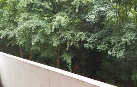 Geräumige 1-Zimmer Wohnung mit Balkon und Blick ins Grüne zu vermieten