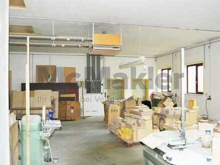 Nutzen Sie die Chance - Gewerbeobjekt mit Werkstatt und Büroräumen! Preis verhandelbar!
