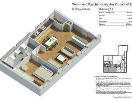 Neue Stadtwohnung mitten im Zentrum - provisionsfrei