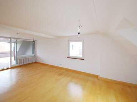 Interessante 3-Zimmer-Maisonette-Wohnung mit Balkon und Traumaussicht