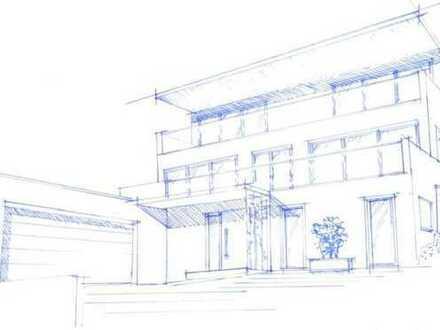 Baugrundstück in Achdorfer Berglage, Vorkonzept für Neubau vorhanden