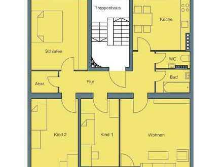 Stilvolle, helle, WG geeignete, vollständig renovierte 4-Zimmer-Wohnung mit Balkon in Lehel, München
