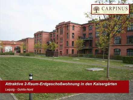 Attraktive 2-Raum-Erdgeschoßwohnung in den Kaisergärten
