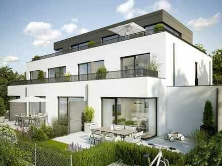 Elegante Neubau-Gartenwohnung, Südausrichtung, ruhige Wohnlage, 15 Radmin. zum Marienplatz!!