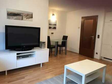 Ruhige Wohnung in zentraler Lage - voll möbliert!
