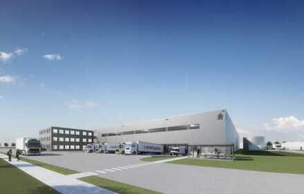 "NEUBAU! |Logistikzentrum |TOP Verkehrsanbindung und ""Blick ins Grüne""| provisionsfrei"