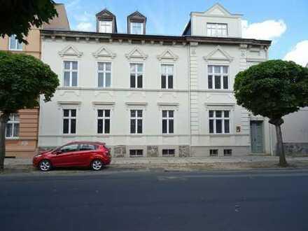 Ehemaliges Verwaltungsgebäude im Sanierungsgebiet