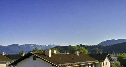 Traumhafte Dachgeschoßwohnung mit Bergblick